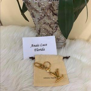 Authentic Louis Vuitton Facetts Bag &Key Holder